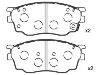 Brake Pad Set:G2YD-33-23Z